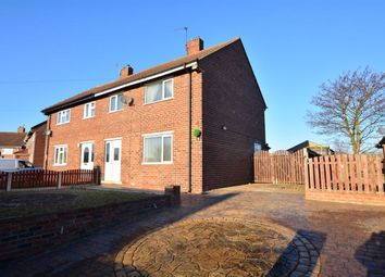 Thumbnail 3 bed semi-detached house to rent in Rose Avenue, Upton, Pontefract