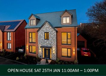 Thumbnail 5 bed detached house for sale in Exeter Road, Topsham, Devon