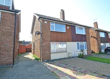 Thumbnail 2 bed semi-detached house for sale in Cortland Close, Milton Regis, Sittingbourne