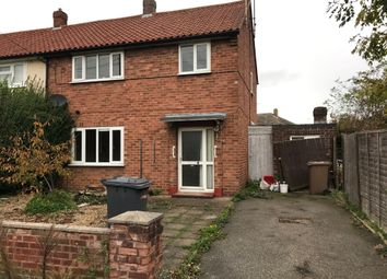 Thumbnail 3 bed semi-detached house for sale in Tennyson Road, Ruskington, Sleaford