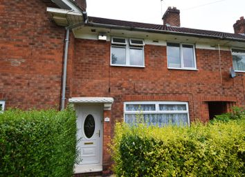 Thumbnail 3 bed terraced house to rent in Alwold Road, Weoley Castle, Birmingham