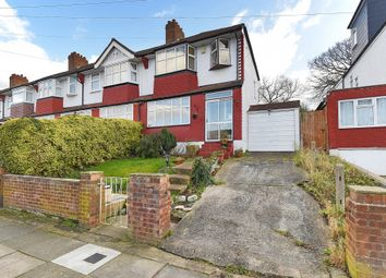 Thumbnail 3 bed end terrace house for sale in Clayhill Crescent, London