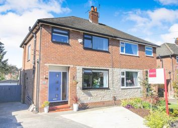 Thumbnail 3 bed semi-detached house for sale in Poise Close, Hazel Grove, Stockport, Chehsire