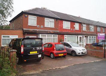 Thumbnail 3 bed terraced house for sale in Kirkmanshulme Lane, Longsight