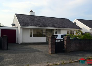 Thumbnail 2 bed detached bungalow for sale in Lon Ceredigion, Pwllheli