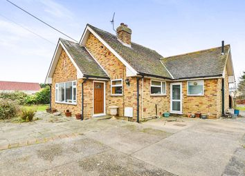 Thumbnail 3 bed bungalow for sale in New Hope Pett Level Road, Winchelsea Beach, Winchelsea