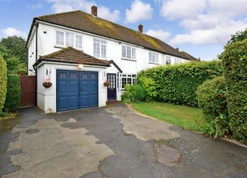 Forstal Lane, Coxheath, Kent ME17. 4 bed semi-detached house