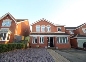 Thumbnail 4 bed detached house for sale in Linnet Hill, Mickleover, Derby