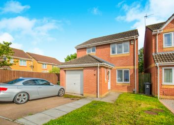 Thumbnail 3 bed detached house for sale in Mitchell Close, St. Mellons, Cardiff