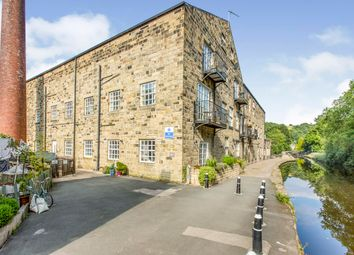 Thumbnail 3 bed flat for sale in Canal Works, Shelf Road, Hebden Royd, West Yorkshire