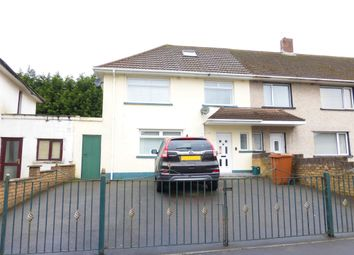 Thumbnail 3 bed semi-detached house for sale in Heol Y Felin, Bryncenydd, Caerphilly