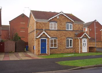 Thumbnail 2 bed semi-detached house to rent in Maldon Drive, Victoria Dock, Hull