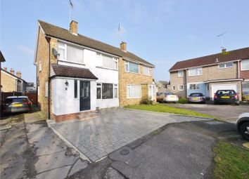 Thumbnail 3 bed semi-detached house for sale in Northend, Warley, Brentwood, Essex