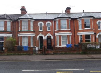 Thumbnail 4 bedroom terraced house for sale in Foxhall Road, Ipswich, Suffolk