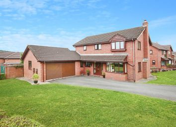 Thumbnail 4 bed detached house for sale in Sharpland, Loggerheads, Market Drayton
