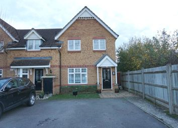 Thumbnail 3 bed end terrace house for sale in Woodall Close, Chessington