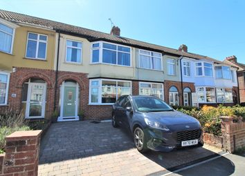 Eastbourne Avenue, Elson, Gosport PO12. 3 bed terraced house for sale