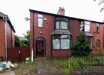 Thumbnail 3 bed semi-detached house for sale in Woodlands Avenue, Whitefield, Manchester