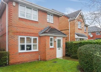 Thumbnail 3 bed detached house for sale in Elmstone Close, Manchester