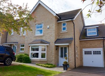 Thumbnail 4 bedroom semi-detached house for sale in Browning Close, Royston