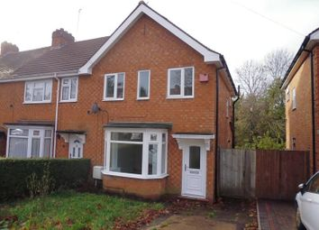 Thumbnail 3 bedroom property to rent in Gracemere Crescent, Hall Green, Birmingham