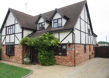 Thumbnail 5 bed detached house for sale in Gardiners Lane North, Crays Hill, Billericay