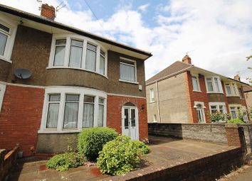 Thumbnail 3 bedroom semi-detached house for sale in Arles Road, Ely, Cardiff