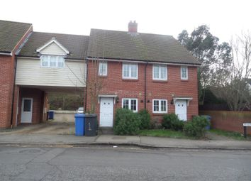 Thumbnail 3 bed terraced house to rent in Braybrooke Mews, Middleton Road, Sudbury