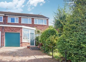 Thumbnail 3 bed semi-detached house for sale in Grove Way, Streetly, Sutton Coldfield