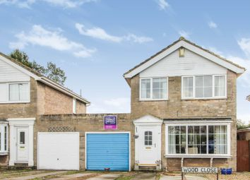 Thumbnail 3 bed link-detached house for sale in Wood Close, Thorpe Willoughby