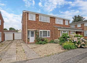 Thumbnail 3 bed semi-detached house for sale in Avon Court, Eaton Socon, St. Neots