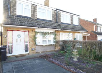 Thumbnail 3 bed semi-detached house to rent in Viking Road, Northfleet, Gravesend