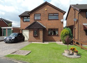 Thumbnail 4 bed detached house for sale in Wensleydale Close, Royton, Oldham