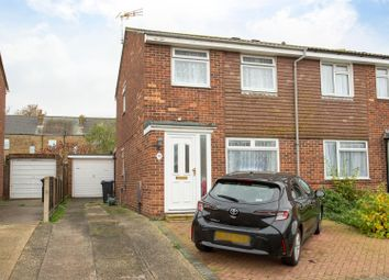 Thumbnail 3 bed semi-detached house for sale in Sewell Close, Birchington