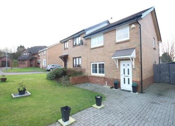 Thumbnail 3 bed semi-detached house for sale in Whithorn Crescent, Moodiesburn, Glasgow, North Lanarkshire