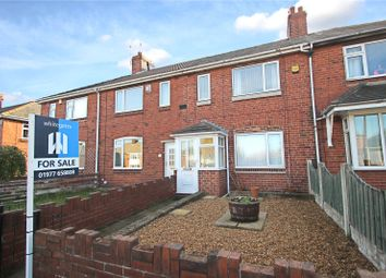 Thumbnail 2 bed terraced house for sale in Minsthorpe Lane, South Elmsall, Pontefract, West Yorkshire