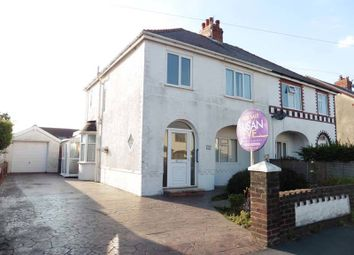 Thumbnail 3 bed semi-detached house for sale in Clovelly Avenue, Thornton-Cleveleys
