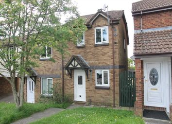 Thumbnail 2 bed semi-detached house for sale in Bakers Close, Plympton