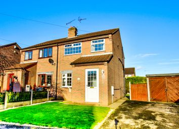 Thumbnail 3 bed semi-detached house for sale in Stanton Place, New Houghton, Mansfield