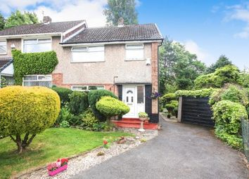 Thumbnail 3 bed semi-detached house for sale in Kendal Gardens, Woodley, Stockport, Cheshire