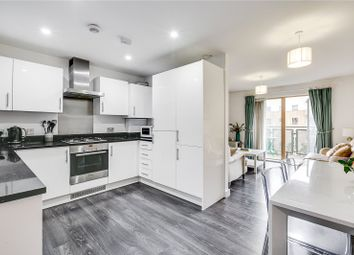 Thumbnail 2 bed flat for sale in Clock View Crescent, London