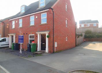 Thumbnail 3 bed semi-detached house to rent in The Park, James St, Leabrooks, Riddings