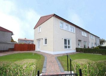 Thumbnail 3 bed end terrace house for sale in Rye Crescent, Glasgow, Lanarkshire