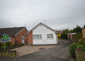 Thumbnail 2 bed bungalow for sale in Lavender Close, Blaby, Leicester