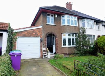 Thumbnail 3 bed semi-detached house to rent in Meadway, Wavertree Gardens, Liverpool, Merseyside
