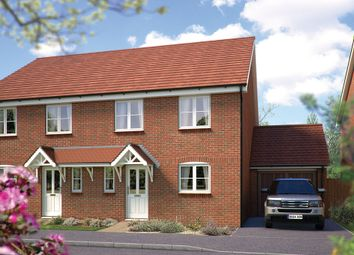 "Thumbnail 4 bed link-detached house for sale in ""The Salisbury"" at Mayfield Way, Cranbrook, Exeter"