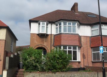 Thumbnail 3 bed end terrace house to rent in Leighton Road, Camden, London