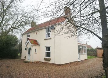 Thumbnail 3 bed detached house for sale in Whinburgh Road, Westfield, Dereham, Norfolk