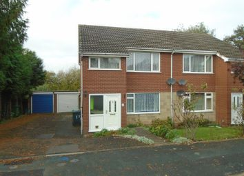 Thumbnail 1 bed flat for sale in Banbury Close, Sutton Farm, Shrewsbury