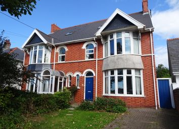 Thumbnail 4 bed semi-detached house for sale in West Road, Porthcawl